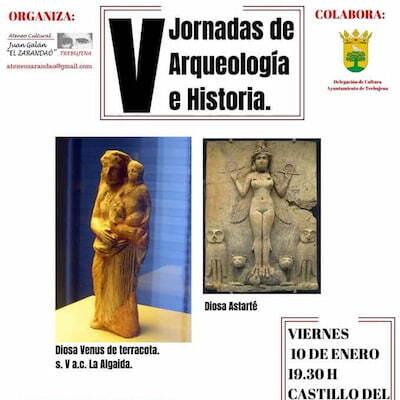 V JORNADAS DE ARQUEOLOGÍA E HISTORIA EN TREBUJENA.